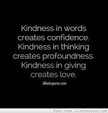 kindnessinwords