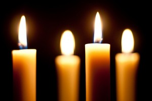 when the nights are long and the young are still, the candles burn and we take our fill.
